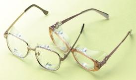 花粉対策コーナー 花粉防止メガネに大変身!スカッシーメガネにカバー